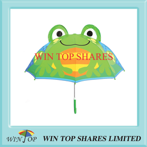 Innovative popular Green tree frog Child Umbrella