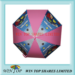 Children EVA Umbrella for Angry Bird (WTP093)