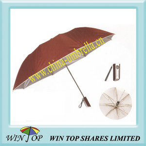 "23"" Auto 2 Section UV Proof Umbrella"