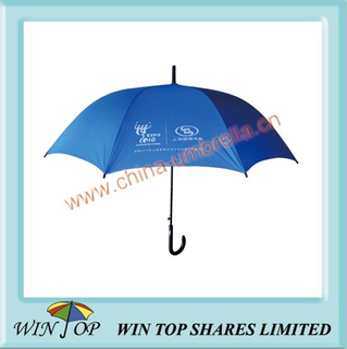"23"" Expo Auto Steel Promotion Plain Umbrella"