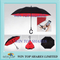 Creative 2 layers hand free windproof reverse Umbrella