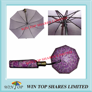 Chinese Super Luxury Full Auto Folding Umbrella