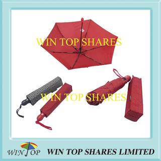 Gift Box Auto Open Close Printed Umbrella