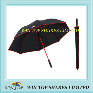 Automatic Red fiberglass BMW Gift Golf Umbrella