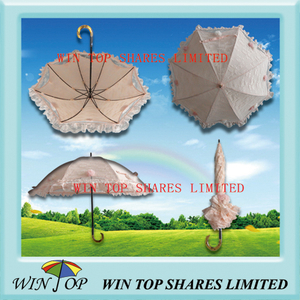 2 Folds Top Quality Girl Parasol