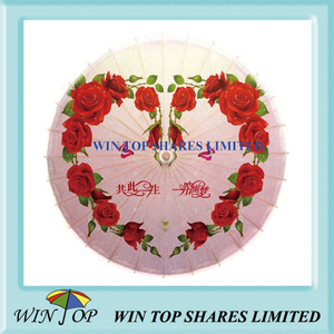 Love style wedding ceremony umbrella