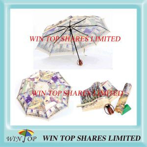 Daily Use Home Umbrella with Digital Printing