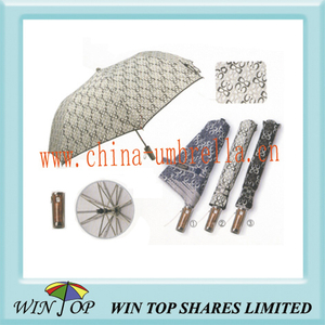 "23"" Customised Auto 2 Fold Umbrella"