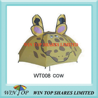 "18"" Beautiful Cow Cartoon Umbrella (WT008)"
