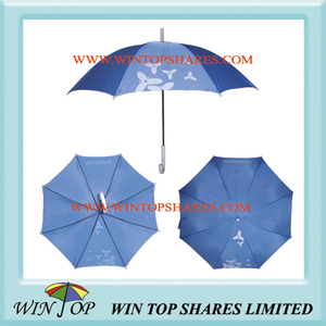 Blue Advertising Gift Umbrella for Neutrogena