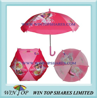 "18"" Princess Child Umbrella (WT8051)"