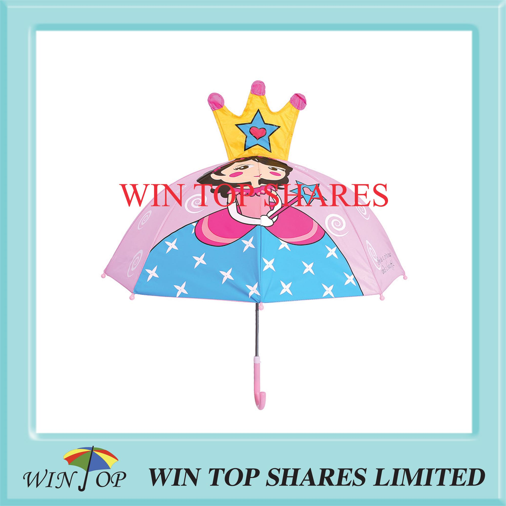 Creation and fashionable Crown Princess girl parasol