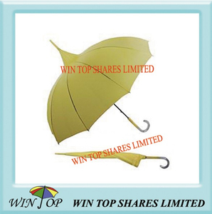 "23"" Auto Ladies Pagoda Umbrella"