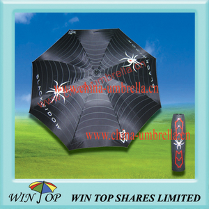 "Arc 62"", Radius 31"" Customized Spider Golf Umbrella"