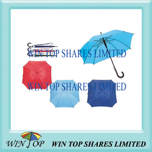 "23"" Auto Straight Wooden Rectangle Umbrella"