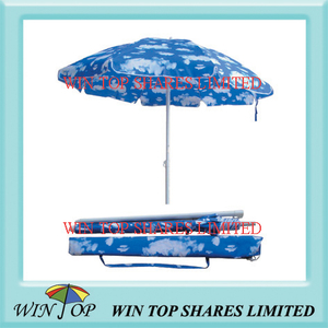 "40"" Fashion Promotion Outdoor Beach Umbrella (WT7054)"