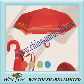 "21"" 3 Folding Graceful New Umbrella"