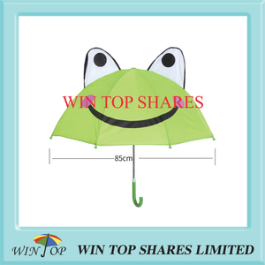 Innovation Fashion Green Frog Kid Parasol