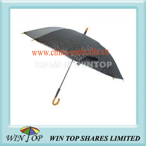 "21"" Manual Straight Ladies Lace Umbrella"