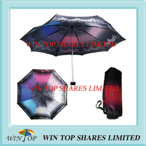 Popular Fashionable small 5 folds umbrella supply