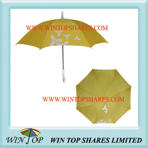 Yellow Promotion Umbrella for Neurtogena