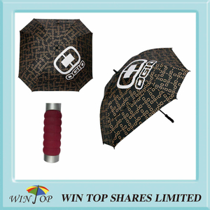 "Arc 68"", Radius 34"" Auto Square Luxury Golf Umbrella (WT6080)"