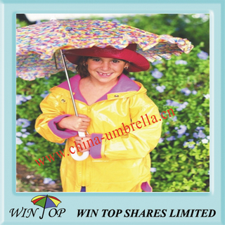 "15.5"" Lovely Child Lace Umbrella"