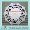 China fashion dark blue and white art parasol