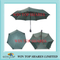 Red fiberglass full auto windproof Umbrella