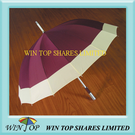 Korea Type Auto Straight Aluminum Umbrella