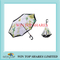 Creation cherry and cat design automatic reverse umbrella