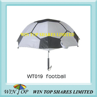 Soccer Print Pattern Cartoon Kid Umbrella (WT019)